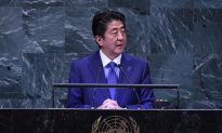 Japan's Abe Highlights 'Free and Open Indo-Pacific' Strategy to Counter Beijing