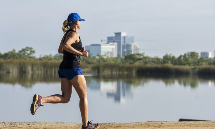 Irvine offers plenty of green parks and nature spots for running, hiking, or simply introspection. Go for a jog along the water. (Courtesy of Destination Irvine)