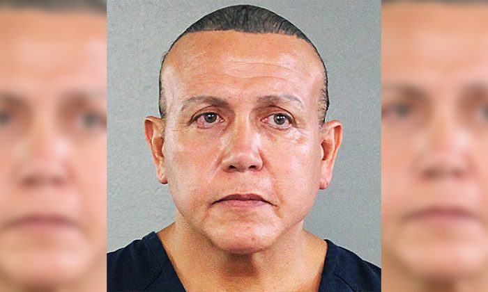 Cesar Sayoc was arrested and charged with mailing at least 14 pipe bombs to various former Democraticic officials and party supporters. (Broward County Sheriff's Office via Getty Images)