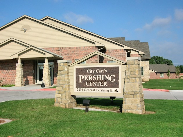 The Pershing Center.