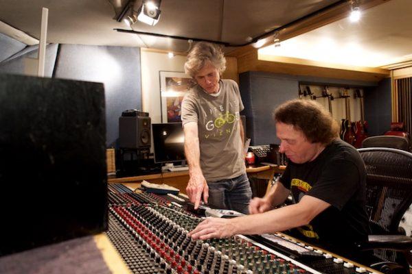 Gene Bowen in the control room