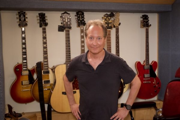 Jack Bookbinder in the control room at Threshold Recording Studios NYC