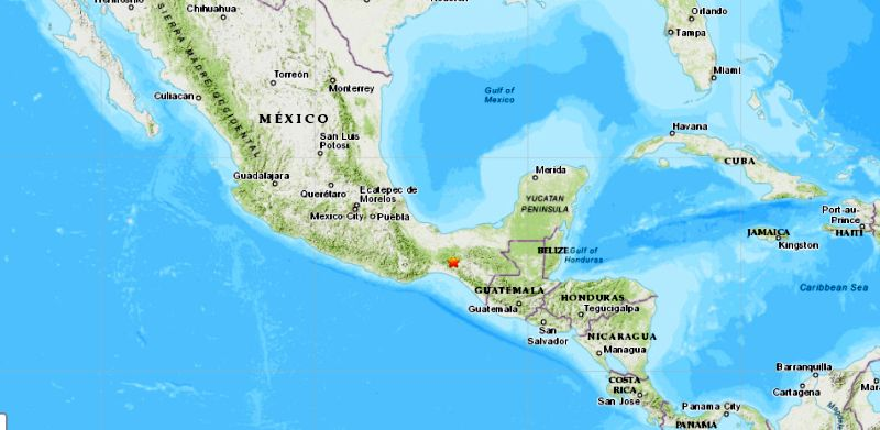 A 5.4 magnitude earthquake struck southern Mexico on the night of Oct. 1, according to the U.S. Geological Survey (USGS).