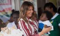 Videos of the Day: First Lady Arrives in Ghana on Solo African Trip