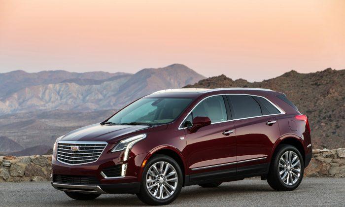 2019 Cadillac Xt5 Platinum Courtesy Of