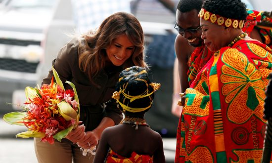 Videos of the Day: First Lady Makes Emotional Visit to Former Slave Fort in Ghana