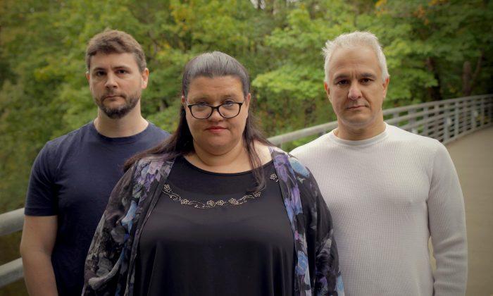 (L-R) James Lindsay, Helen Pluckrose, and Peter Boghossian. (Mike Nayna)