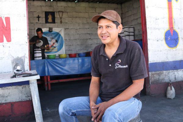 Emmanuel Urbán at his firework shop in La Saucera in Tultepec, Mexico.
