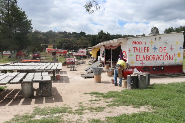 A firework shop in La Saucera, near Tultepec, in Mexico.