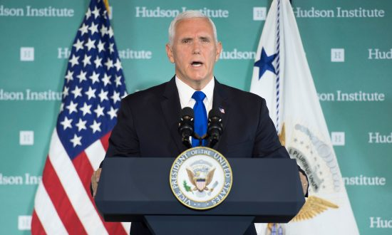 Vice President Pence's Speech Riles Some, in China and Beyond