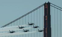 SF Prepares for Blue Angels as Fleet Week Gets Underway