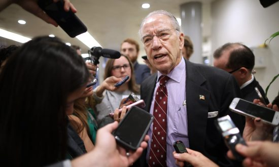 Kavanaugh Probe by FBI Found 'No Hint of Misconduct,' Grassley Says