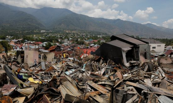 1-Year-Old Girl Found Buried Alive After Tsunami Hit Indonesia