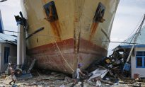 Crew Recount Terror of Indonesia Tsunami That Dumped Ferry in Village