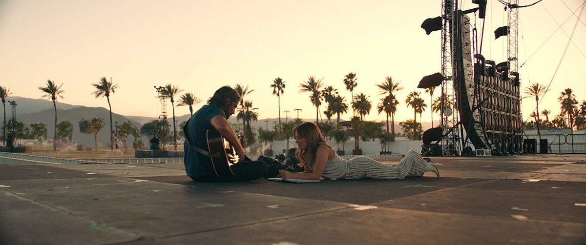 Bradley Cooper and Lady Gaga make music