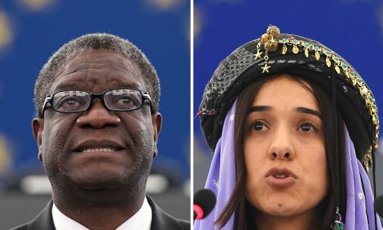 Nobel Peace Prize Won By Campaigners Against Rape in Warfare Denis Mukwege and Nadia Murad