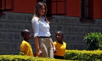 Videos of the Day: Melania Trump Goes on Safari in Kenya and Visits an Orphanage