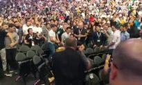 Brawl Erupts in Audience at McGregor-Nurmagomedov Weigh-In
