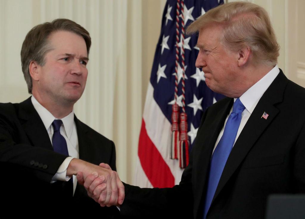 Trump with Kavanaugh