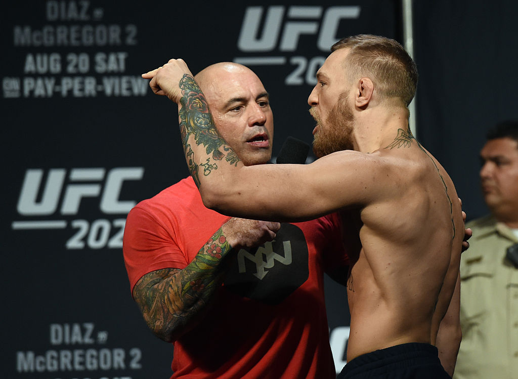 Joe Rogan interviews Conor McGregor