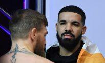 Drake Looks Terrified at UFC 229 as Khabib Takes On McGregor's Entire Team