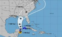 Tropical Storm Michael Forms, Florida Governor to Declare State of Emergency