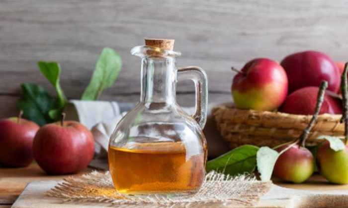 Some people love apple cider vinegar and believe it to be an aid to weight loss. (Madeleine Steinbach/Shutterstock)