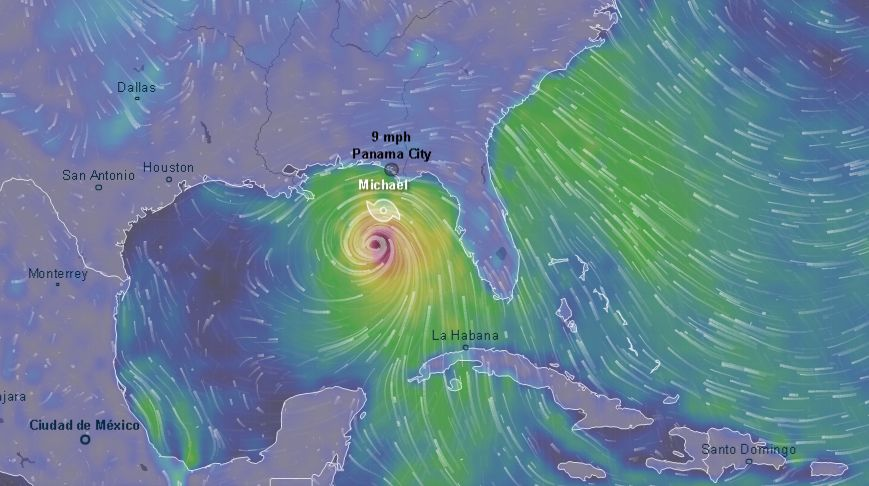 Florida Prepares for Hurricane Michael Landfall