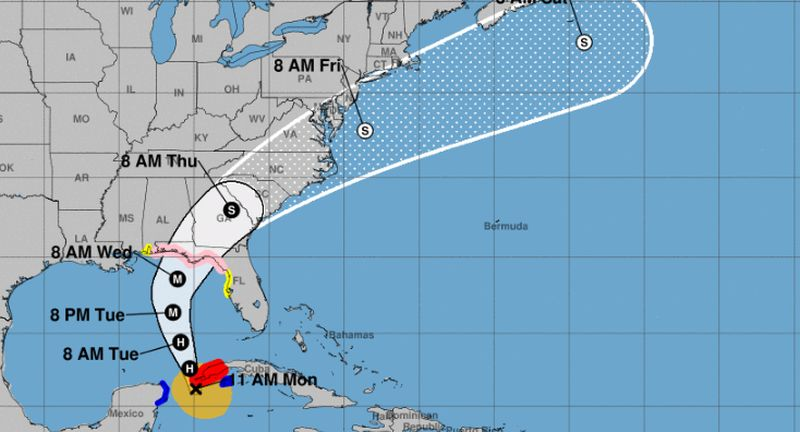 Up Next: Tropical Storm Michael