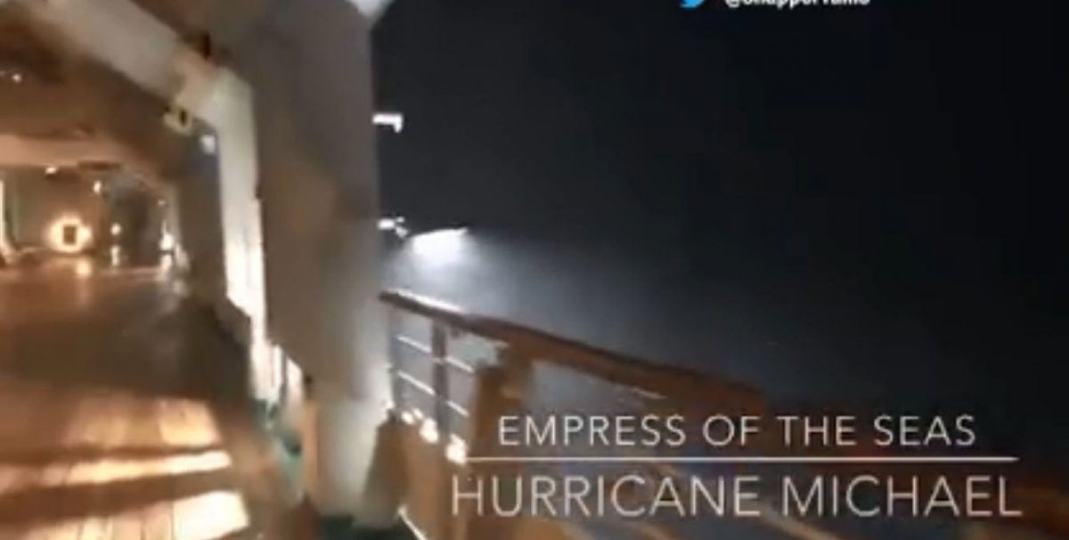 Royal Caribbean ship gets whipped by Hurricane Michael winds near Cuba