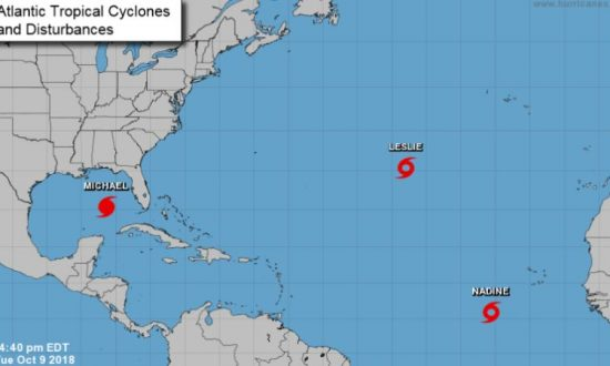 Latest Updates on Tropical Storms Sergio, Nadine, and Leslie