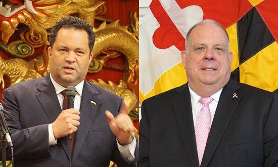 Maryland Gubernatorial Candidates Hogan, Jealous Talk Education and Jobs