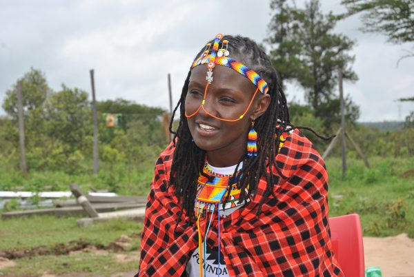 Josephine Kulea, a child-rights activist and child survivor herself.