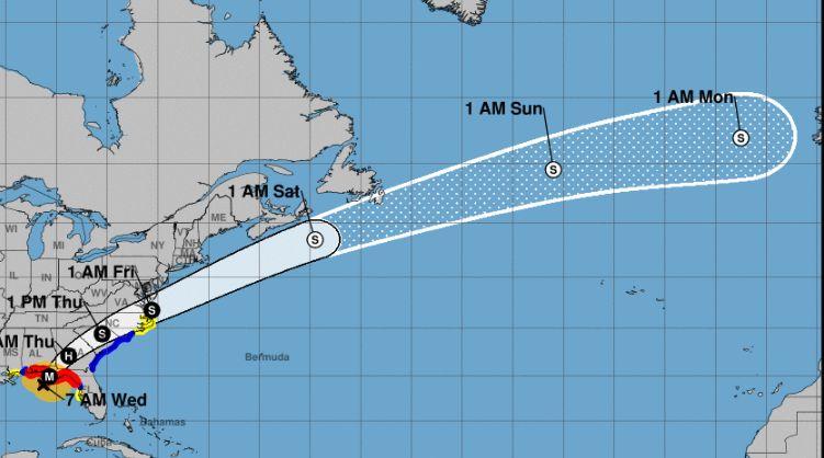 Hurricane Michael Tyndall Air Force Base In Panama City Evacuated