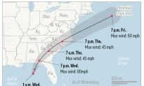 Historic Hurricane Michael Downgraded to Tropical Storm, Hovers Over Georgia
