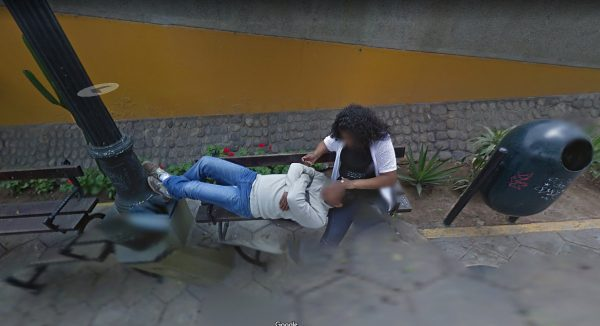 Couple divorce after Google Street View captures wife stroking another man's hair