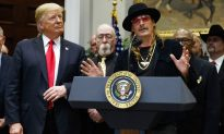 Kid Rock Comes to White House as Trump Signs Royalty Bill