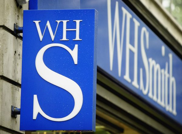 A branch of WH Smith in London