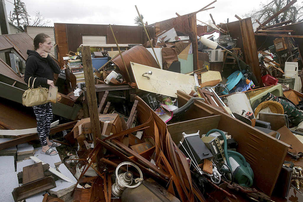 Hurricane Michael kills 2
