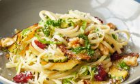 Dorie Greenspan's Pasta With Cabbage, Winter Squash, and Walnuts