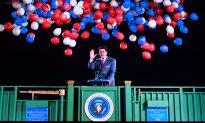 Ronald Reagan Hologram Greets Visitors at Ex-president's Library