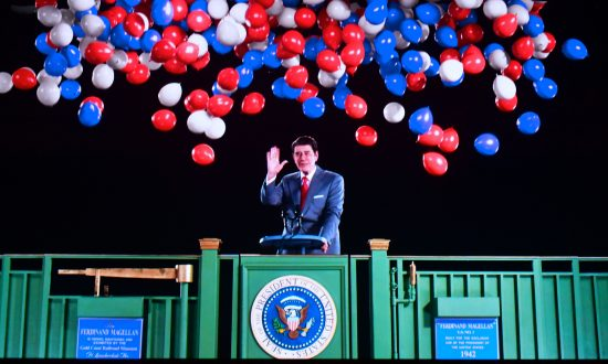 Ronald Reagan Hologram Greets Visitors at Ex-president's Library
