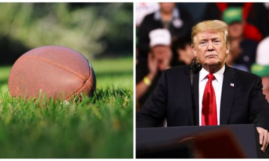 Student Forced to Remove Trump Shirt at 'USA America'-Themed Football Game