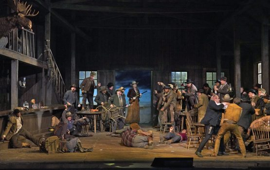 Act 1 of La Fanciulla del West