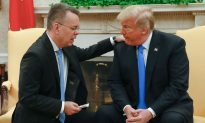 Freed From Turkish Prison, Pastor Andrew Brunson Kneeled, Prayed for Trump in Oval Office