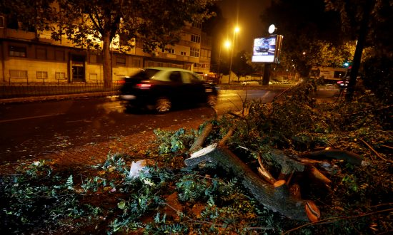 Storm Leslie Hits Portugal, Leaves Thousands Without Power