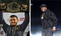 Rapper 50 Cent Offers Khabib '$2 Million Cash Tonight' to Ditch UFC and Fight for Bellator