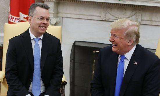 Videos of the Day: Trump Celebrates Pastor Brunson's Return From Turkey