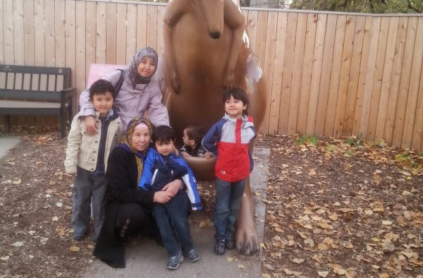 Uyghur family separated