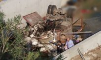 19 Killed as Truck Carrying Illegal Immigrants Crashes in Turkey